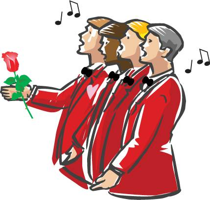 singing valentines image