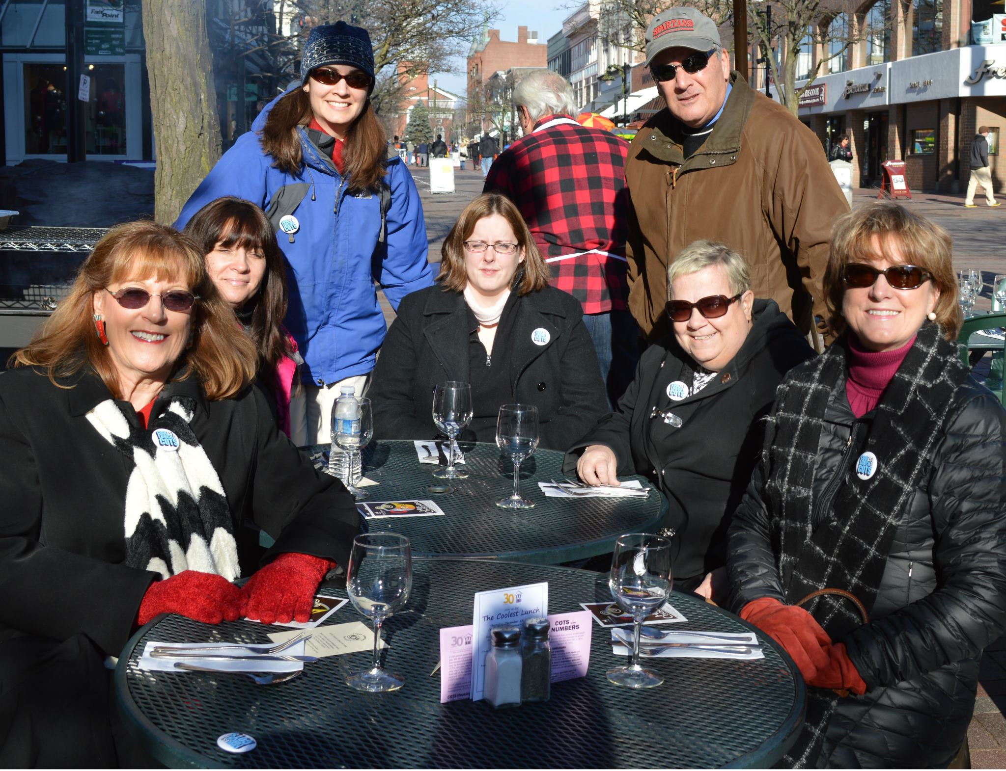 30th Anniversary Emerald Event Sponsor Citizens Bank enjoyed the Coolest Lunch at the Three Tomatoes Trattoria.