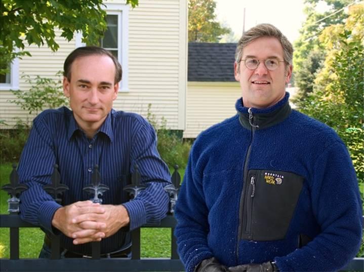 Co-hosts 30th anniversary gala chris bohjalian and stephen kiernan