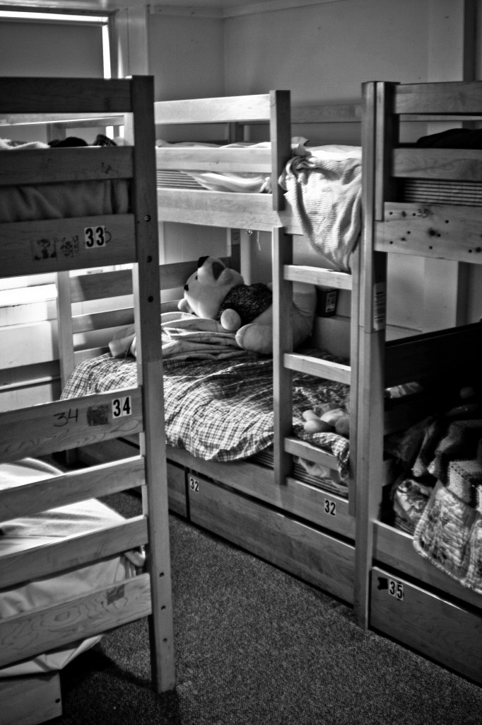 Women's Dorm-BW May09