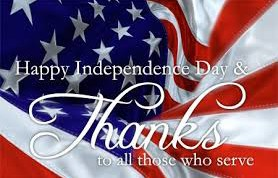 independance day thank you to all who have served