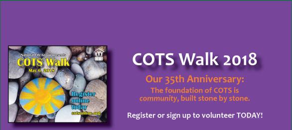 COTS Walk 2018